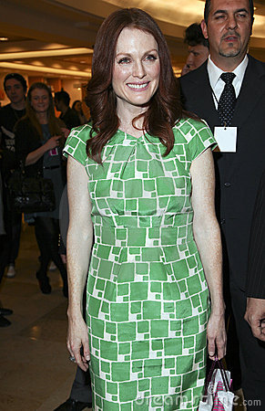 MEXICO CITY Actress Julianne Moore Fashion Fest Editorial Photography