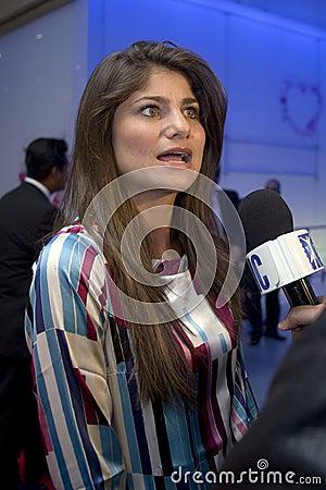 MEXICO CITY Actress Maria Aura Editorial Stock Image