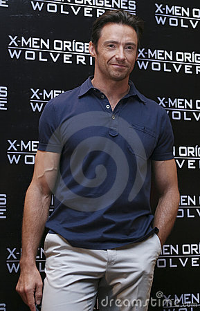 Free MEXICO CITY-MAY 26 2009: Actor Hugh Jackman Stock Photos - 9602163