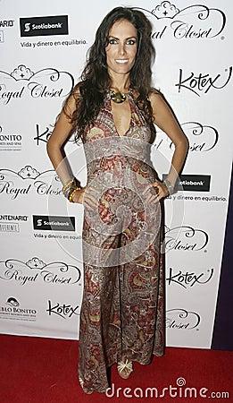 MEXICO CITY Singer Ana Gabriela Peralta Editorial Image