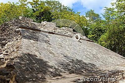 Mexico.Coba Mayan Ruins