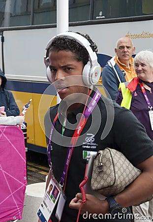 Mexico Olympic Football Giovani Dos Santos Editorial Image
