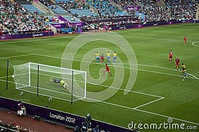 Mexico Olympic Football Giovani Dos Santos Goal Editorial Photo