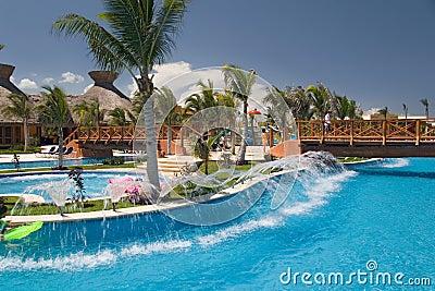 Mexico pool like river