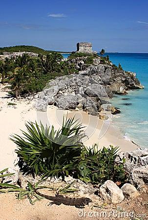 Mexico Quintana Roo Tulum Mayan ruins