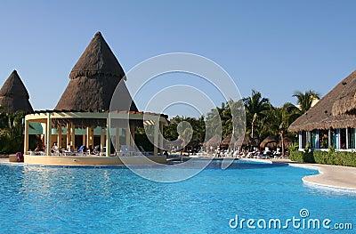 Mexico riviera maya iberostar paraiso lindo pool