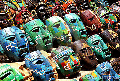 Mexico Souvenir masks