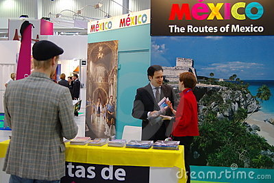 Mexico Tourism Board at TT Warsaw Editorial Photography