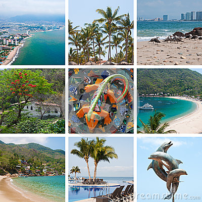 Free Mexico Travel Collage Stock Images - 25682254