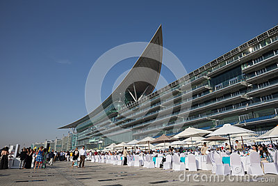 Meydan Racecourse Editorial Stock Photo