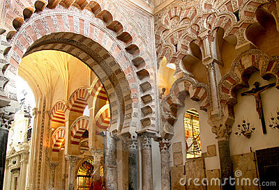 The Mezquita, Cordoba Cathedral, Spain