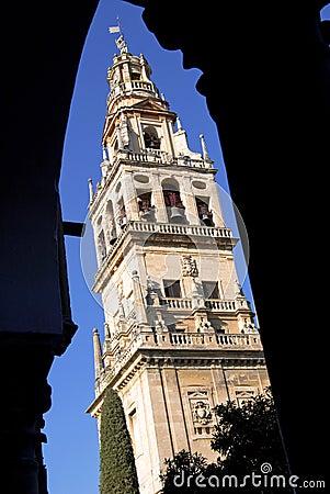 Mezquita de Córdoba, torre.