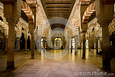 Mezquita Interior in Cordoba