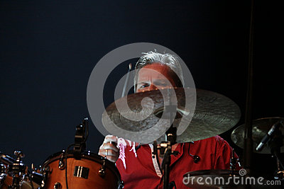 Mezzoforte concert in Hungary Editorial Photography