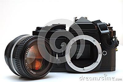 MF SLR camera
