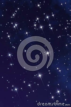 Mgławicy przestrzeni gwiazda
