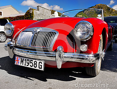 MG, Vintage Cars, Sports Cars