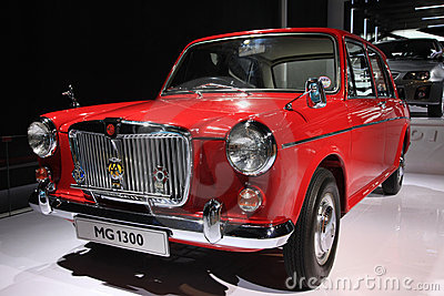 Mg1300 classic car Editorial Image