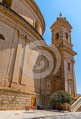 Free Mgarr ChurchBack Royalty Free Stock Images - 32913979