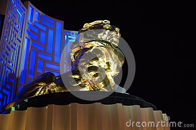 Mgm Grand, Las Vegas Foto de Stock Editorial