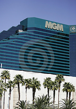 MGM Grand Las Vegas vertical Editorial Image