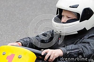Miúdo de Karting