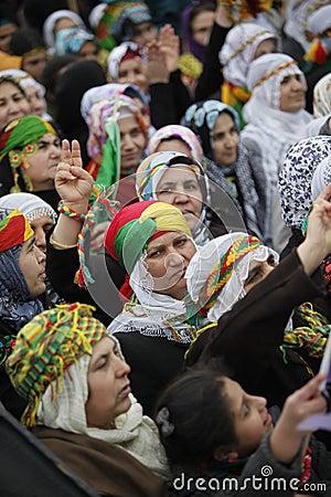 Międzynarodowe dzień kobiety s Fotografia Editorial