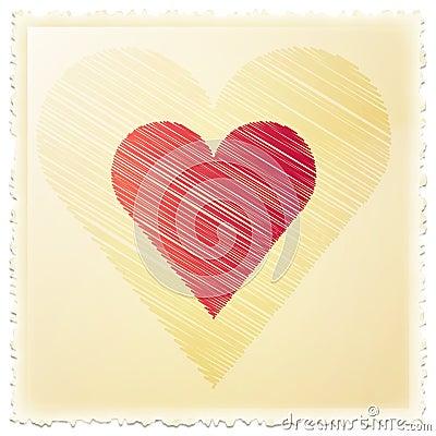 Miłość znaczek