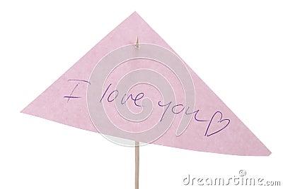 Miłości notatka