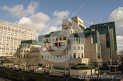 MI6 högkvarter, London