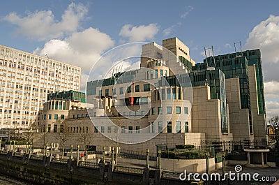 MI6 högkvarter, London