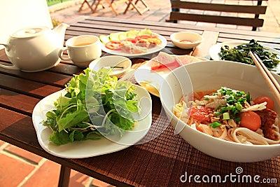 Mi Quang. Vietnamese Cuisine