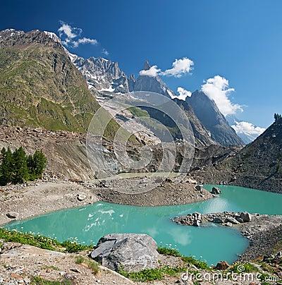 Miage lake