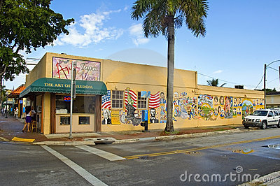 Miami Editorial Stock Image