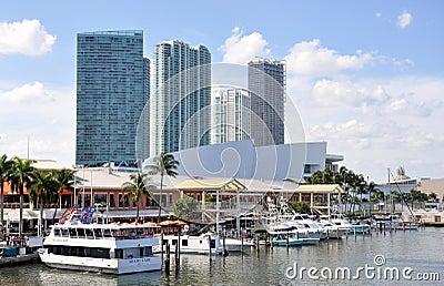 Miami Bayside Marketplace Editorial Photography