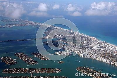 Miami Beach Area Aerial