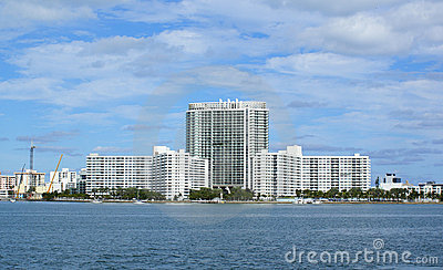 Miami beach bayside