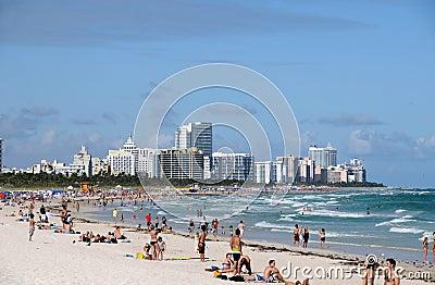Miami Beach, Florida Editorial Stock Image