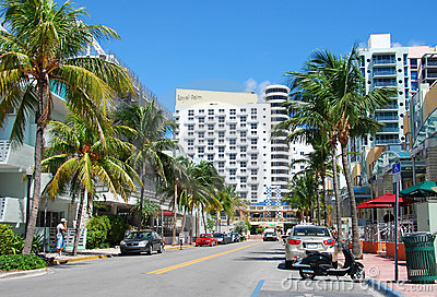 Miami Beach, Florida Editorial Image