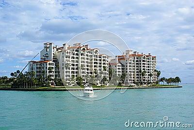 Miami beach island