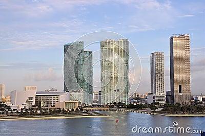 Miami City Editorial Stock Photo