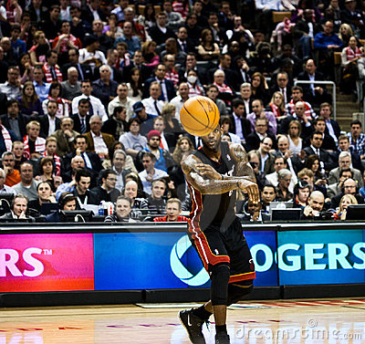 Miami Heat vs. Toronto Raptors Editorial Photography