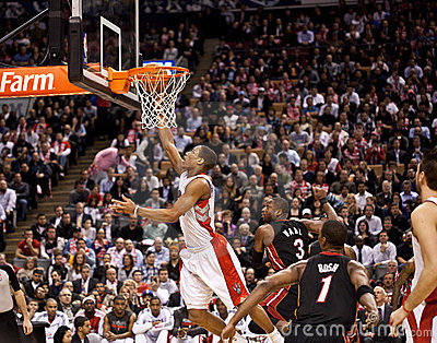 Miami Heat vs. Toronto Raptors Editorial Image