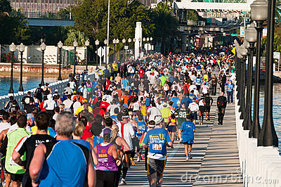 Miami Marathon Editorial Photo