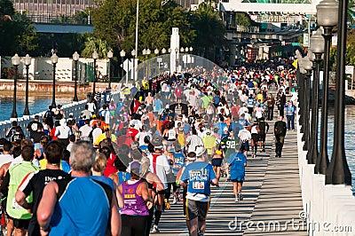 Miami Marathon Editorial Photo