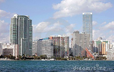 Miami Skyline View