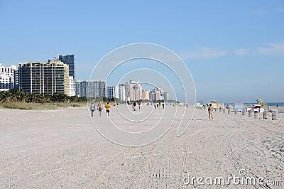 Miami South Beach, Florida Editorial Stock Photo