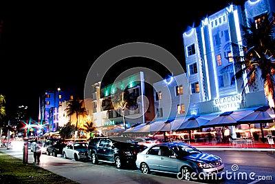 Miami South Beach night