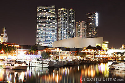 Miami Stadium from Bayside