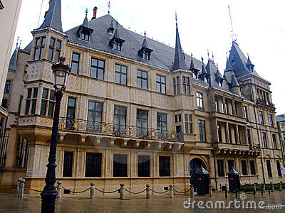 Miasta pałac uroczysty luwembourg Luxembourg pałac